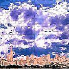 San Francisco Skyline (digital) by Ed Moore