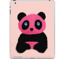Pink blue-eyed panda iPad Case/Skin