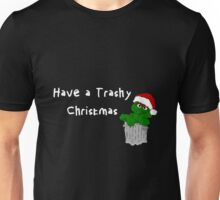Oscar the Grouch at Christmas (dark) Unisex T-Shirt