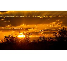 Toulon Sunset Photographic Print