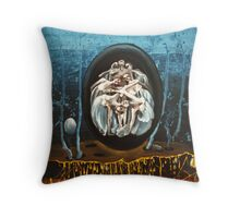 Sowing Throw Pillow