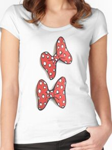 Bow bow Women's Fitted Scoop T-Shirt