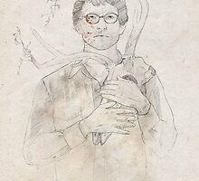Will Graham portrait / sketch by koroa
