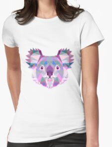 Koala Animals Gift Womens Fitted T-Shirt