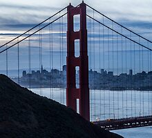 The North Tower - Golden Gate by Richard Thelen
