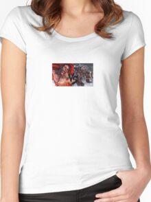 Necalli Vs Gigas Women's Fitted Scoop T-Shirt