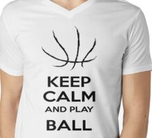 Ball Is Life. Mens V-Neck T-Shirt