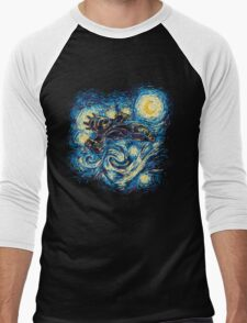 Starry Flight Men's Baseball ¾ T-Shirt