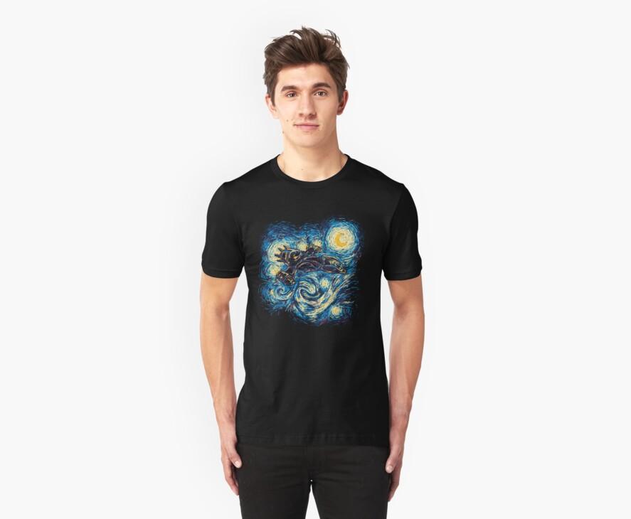 Starry Flight by girardin27