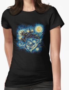 Starry Flight Womens Fitted T-Shirt