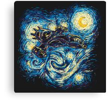 Starry Flight Canvas Print
