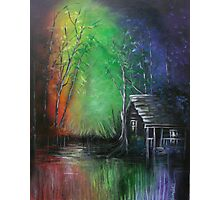 Living in a Rainbow Photographic Print
