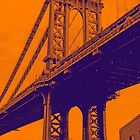 Manhattan Bridge. New York City by Koon
