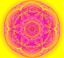 Mandala We are Surrounded by Eternity by Sarah Niebank