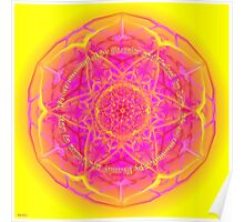 Mandala We are Surrounded by Eternity Poster