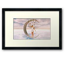 Moon Angel Framed Print