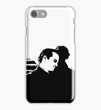 Sherlock and Moriarty rooftop iPhone Case iPhone Case/Skin