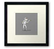 "Captain Ike ""Lazer"" Beem Framed Print"