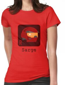Sarge Womens Fitted T-Shirt