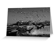 Shadow of the Birds Greeting Card