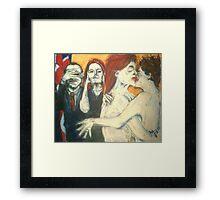 Hear no evil, see no evil...gays speak! Framed Print