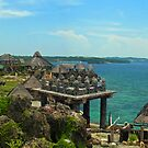 View from Crystal Cove Island - Philippines by Wayne Holman