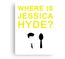 Jessica Hyde Canvas Print