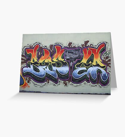 Urban Lettering Greeting Card