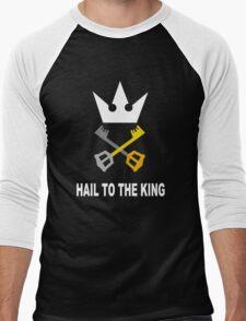 Kingdom Hearts - Hail To The King Men's Baseball ¾ T-Shirt