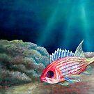 Squirlie - Ocean Series Tropical Fish by Scott Plaster