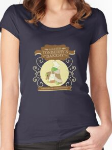 Master Tonberry's Bakery Women's Fitted Scoop T-Shirt