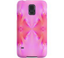 Pink Fractal Math Art  Samsung Galaxy Case/Skin