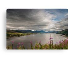 Scotland's Landscape Canvas Print