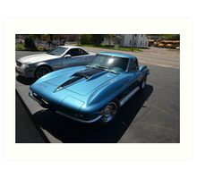 PA Corvette Art Print