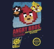 Angry Bros. Kids Tee