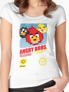 Angry Bros. Women's Fitted Scoop T-Shirt