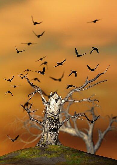 Pesky Birds by Liam Liberty