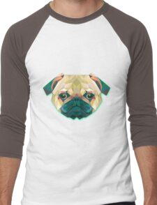 Dog Animals Gift Men's Baseball ¾ T-Shirt