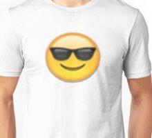 sunglasses emoji Unisex T-Shirt
