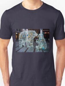 Festive Polar Bears at Exeter Unisex T-Shirt