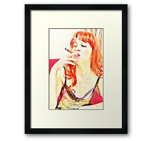 Dominant lover Framed Print
