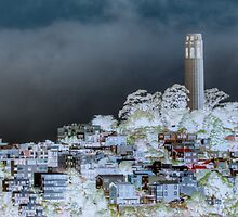 Coit Tower Surreal by Agro Films