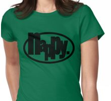 nappy. Womens Fitted T-Shirt