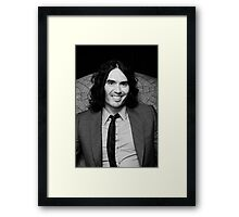 Russell Brand - comedian - actor - superstar Framed Print