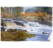 River flow - Barwon River Poster