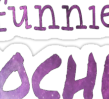Funnier in Enochian Sticker