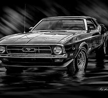 1971 Mustang by Keri Harrish