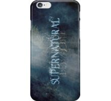 Supernatural - Title Card iPhone Case/Skin