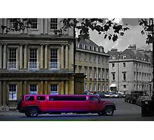 stretch Limo in Royal Circus Photographic Print
