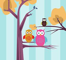 Owls by Adamzworld